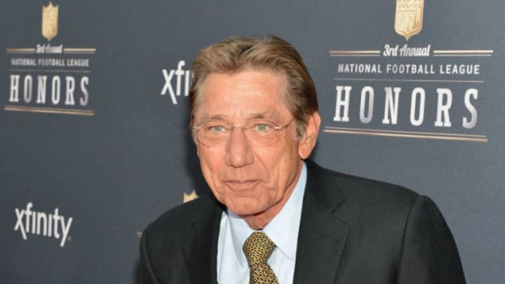 NEW YORK, NY - FEBRUARY 01: Former New York Jets quarterback Joe Namath attends the 3rd Annual NFL Honors at Radio City Music Hall on February 1, 2014 in New York City. (Photo by Slaven Vlasic/Getty Images)