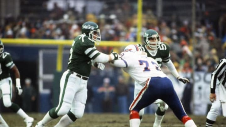 NY Jets (Photo by Focus on Sport/Getty Images)