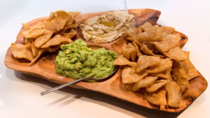 CHICAGO, IL – AUGUST 01: Chef Stephanie Izard's guacamole and hummus at Little Goat Diner on August 1, 2015 in Chicago, Illinois. (Photo by Erika Goldring/Getty Images for VH1 Save The Music Foundation)