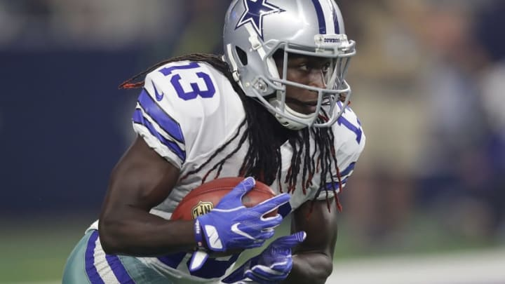 ARLINGTON, TX - SEPTEMBER 25: Lucky Whitehead #13 of the Dallas Cowboys at AT&T Stadium on September 25, 2016 in Arlington, Texas. (Photo by Ronald Martinez/Getty Images)
