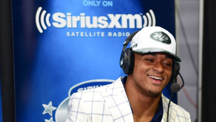 PHILADELPHIA, PA - APRIL 27: Jamal Adams of LSU visits the SiriusXM NFL Radio talkshow after being picked #6 overall by the New York Jets during the first round of 2017 NFL Draft at Philadelphia Museum of Art on April 27, 2017 in Philadelphia, Pennsylvania. (Photo by Lisa Lake/Getty Images for SiriusXM)