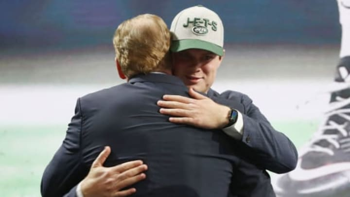NY Jets, 2020 NFL Mock Draft (Photo by Ronald Martinez/Getty Images)