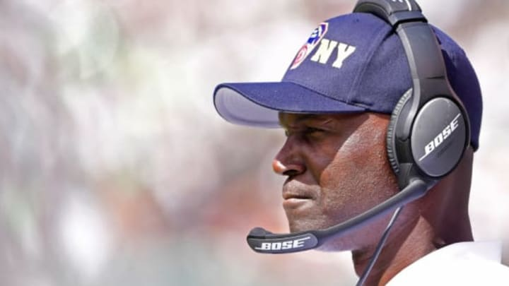 EAST RUTHERFORD, NJ – SEPTEMBER 11: Head coach Todd Bowles of the New York Jets looks on against the Cincinnati Bengals during the second quarter at MetLife Stadium on September 11, 2016 in East Rutherford, New Jersey. (Photo by Steven Ryan/Getty Images)