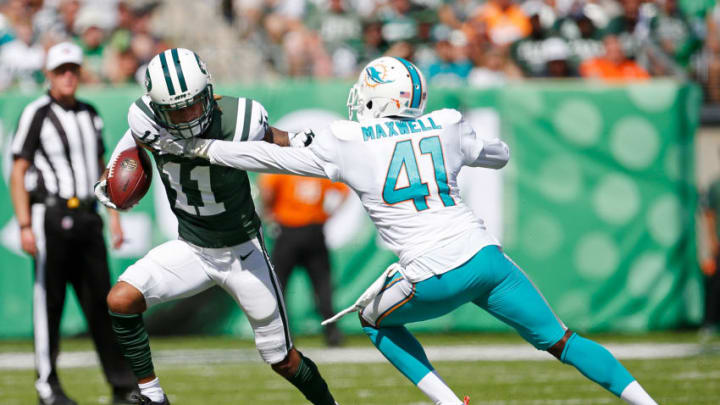 EAST RUTHERFORD, NJ - SEPTEMBER 24: Robby Anderson