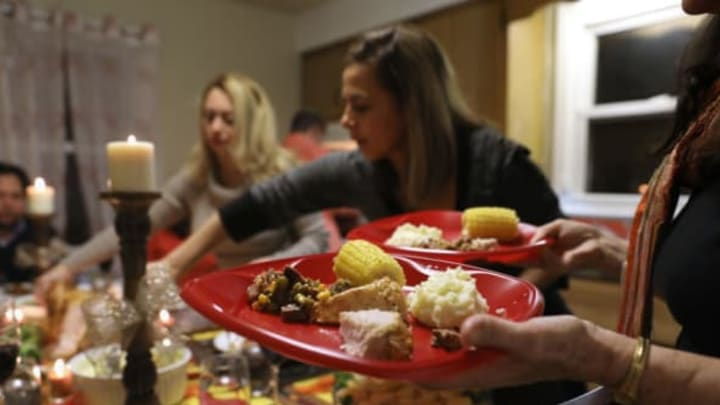 STAMFORD, CT – NOVEMBER 24: Central American immigrants celebrate Thanksgiving on November 24, 2016 in Stamford, Connecticut. Family and friends, some of them U.S. citizens, others on work visas and some undocumented immigrants came together in an apartment to celebrate the American holiday with turkey and Latin American dishes. They expressed concern with the results of the U.S. Presidential election of president-elect Donald Trump, some saying their U.S.-born children fear the possibilty their parents will be deported after Trump's inauguration. (Photo by John Moore/Getty Images)