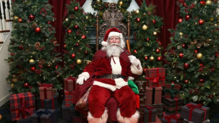 NEW YORK, NY – DECEMBER 13: Santa Claus attends an evening hosted by Brooks Brothers to celebrate the holidays with St. Jude Children's Research Hospital at Brooks Brothers on December 13, 2016 in New York City. (Photo by Bennett Raglin/Getty Images for Brooks Brothers)