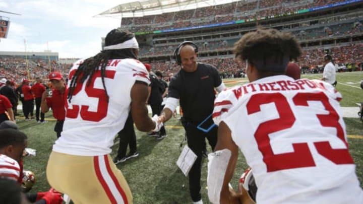 NY Jets, Robert Saleh (Photo by Michael Zagaris/San Francisco 49ers/Getty Images)