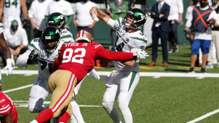 NY Jets, Robert Saleh (Photo by Jim McIsaac/Getty Images)