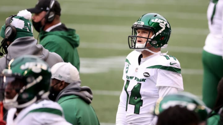 NY Jets, Sam Darnold (Photo by Abbie Parr/Getty Images)
