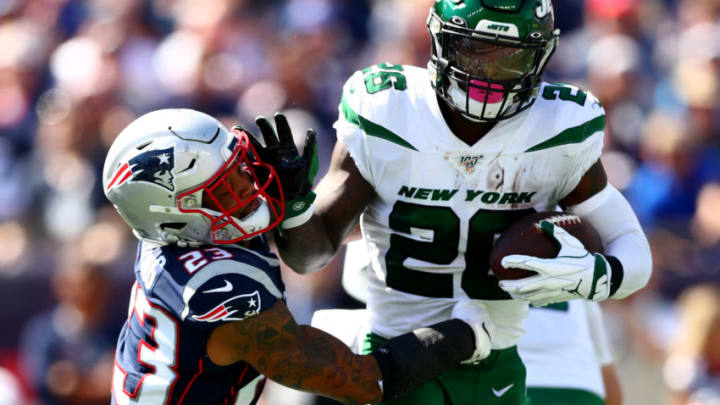 New York Jets Le'Veon Bell (Photo by Adam Glanzman/Getty Images)