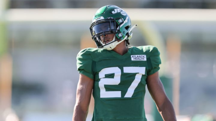 NY Jets, Quincy Wilson Mandatory Credit: Vincent Carchietta-USA TODAY Sports