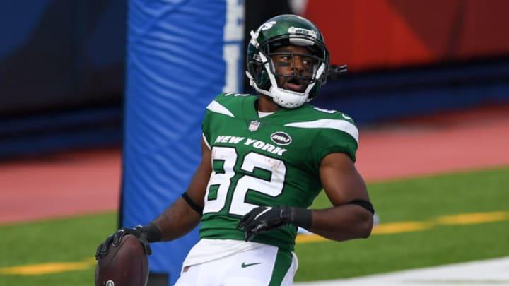 NY Jets, Jamison Crowder Mandatory Credit: Rich Barnes-USA TODAY Sports