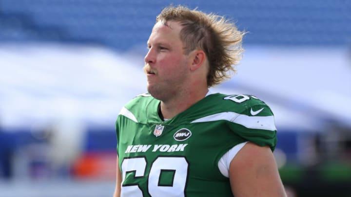 NY Jets, Conor McDermott Mandatory Credit: Rich Barnes-USA TODAY Sports
