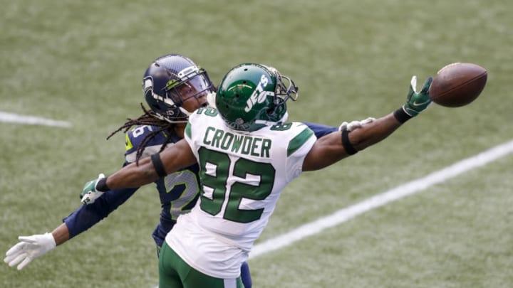 NY Jets, Jamison Crowder Mandatory Credit: Joe Nicholson-USA TODAY Sports