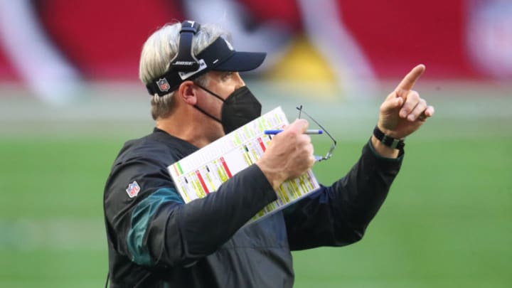 NY Jets, Doug Pederson Mandatory Credit: Mark J. Rebilas-USA TODAY Sports