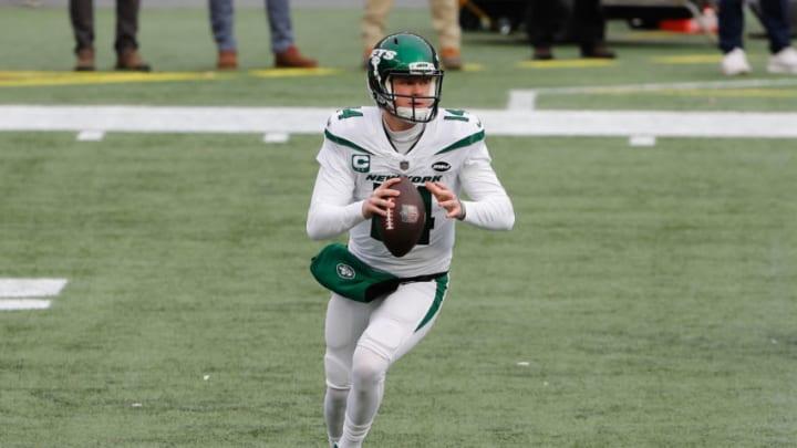 NY Jets, Sam Darnold Mandatory Credit: Winslow Townson-USA TODAY Sports