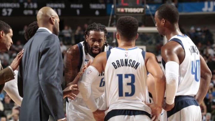 Dallas Mavericks DeAndre Jordan Copyright 2018 NBAE (Photo by Glenn James/NBAE via Getty Images)