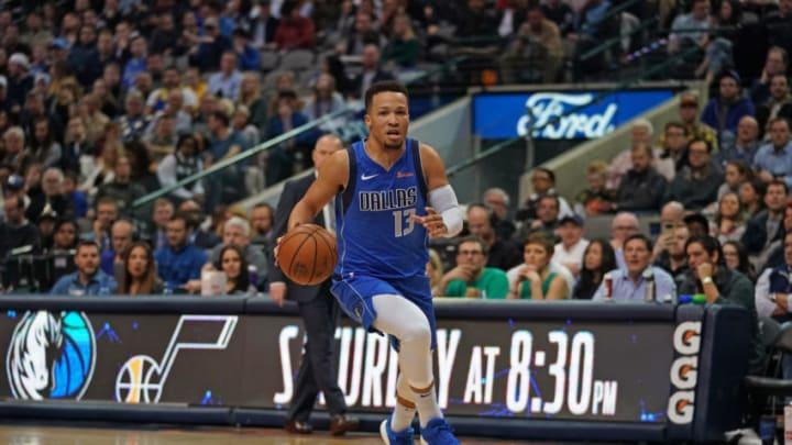 Dallas Mavericks Jalen Brunson Copyright 2019 NBAE (Photo by Darren Carroll/NBAE via Getty Images)