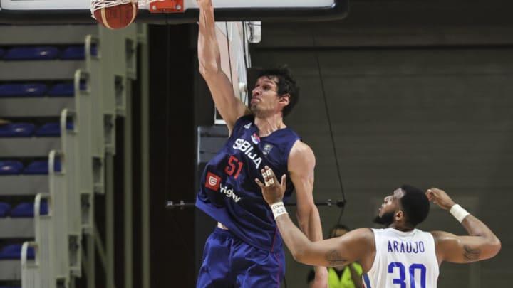 Dallas Mavericks Boban Marjanovic (Photo by Srdjan Stevanovic/Getty Images)