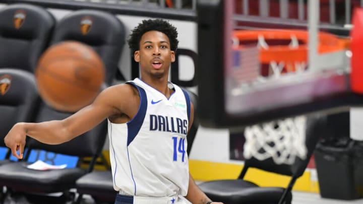 Dallas Mavericks Nate Hinton (Photo by Jason Miller/Getty Images)