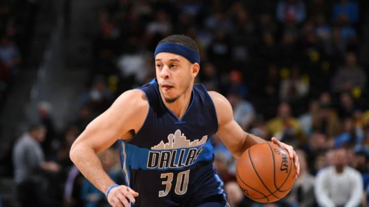 Dallas Mavericks Seth Curry Copyright 2016 NBAE (Photo by Garrett Ellwood/NBAE via Getty Images)