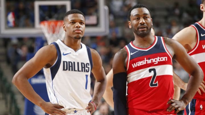 Dallas Mavericks Dennis Smith Jr. Copyright 2018 NBAE (Photo by Glenn James/NBAE via Getty Images)