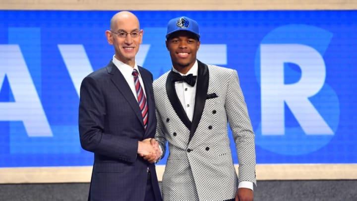 NBA Draft Dennis Smith Jr. Copyright 2017 NBAE (Photo by Jesse D. Garrabrant/NBAE via Getty Images)