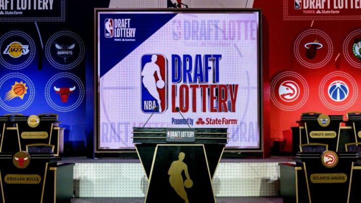 NBA Draft Lottery Mandatory Credit: Patrick Gorski-USA TODAY Sports