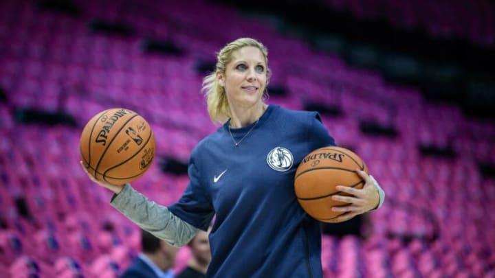 Dallas Mavericks Jenny Boucek Mandatory Credit: Jerome Miron-USA TODAY Sports