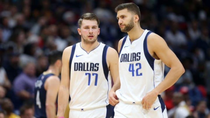 Dallas Mavericks Luka Doncic Maxi Kleber Mandatory Credit: Chuck Cook-USA TODAY Sports
