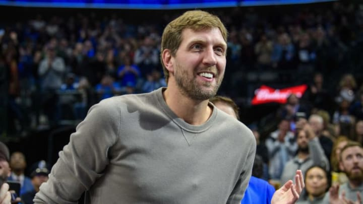Dallas Mavericks Dirk Nowitzki Mandatory Credit: Jerome Miron-USA TODAY Sports