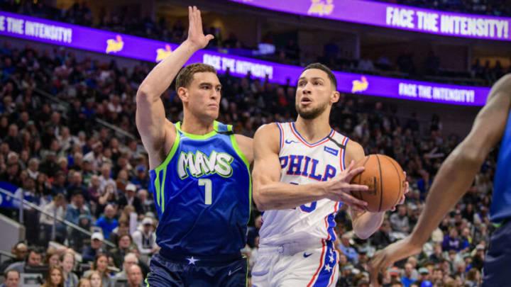 Dallas Mavericks Ben Simmons Mandatory Credit: Jerome Miron-USA TODAY Sports
