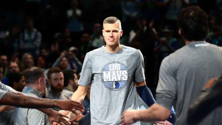 Dallas Mavericks Kristaps Porzingis Mandatory Credit: Matthew Emmons-USA TODAY Sports