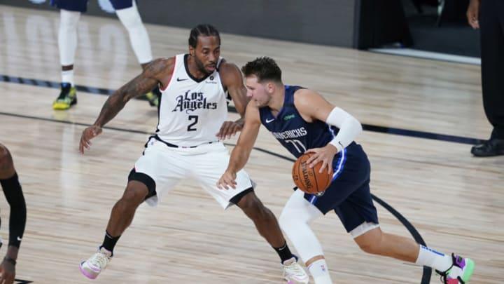 Dallas Mavericks Luka Doncic Mandatory Credit: Ashley Landis/Pool Photo-USA TODAY Sports