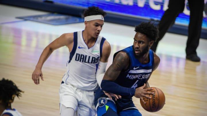 Dallas Mavericks Tyrell Terry Mandatory Credit: Jerome Miron-USA TODAY Sports