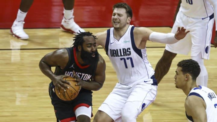 Dallas Mavericks James Harden Mandatory Credit: Troy Taormina-USA TODAY Sports