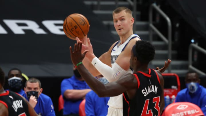 Dallas Mavericks Kristaps Porzingis Mandatory Credit: Kim Klement-USA TODAY Sports