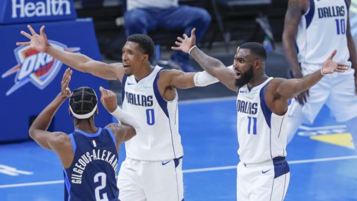 Dallas Mavericks Josh Richardson Tim Hardaway Jr. Mandatory Credit: Alonzo Adams-USA TODAY Sports