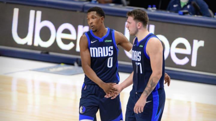 Dallas Mavericks Josh Richardson Luka Doncic Mandatory Credit: Jerome Miron-USA TODAY Sports