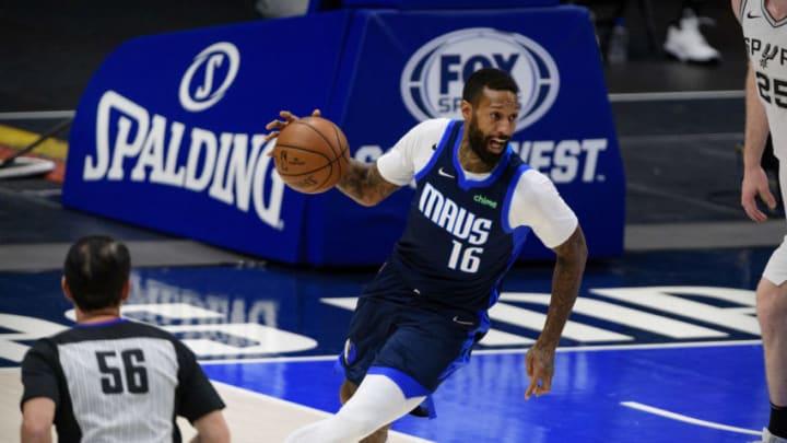 Dallas Mavericks James Johnson Mandatory Credit: Jerome Miron-USA TODAY Sports