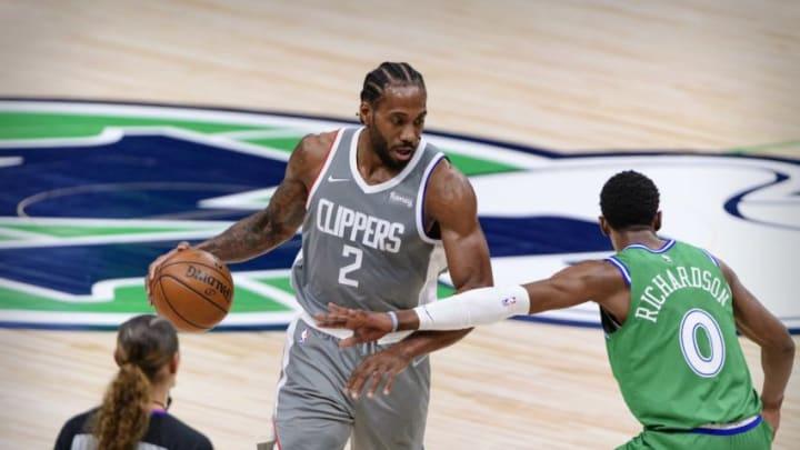 Dallas Mavericks Kawhi Leonard Mandatory Credit: Jerome Miron-USA TODAY Sports