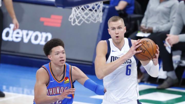 Dallas Mavericks Kristaps Porzingis Mandatory Credit: Alonzo Adams-USA TODAY Sports