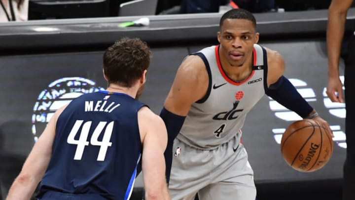 Dallas Mavericks Russell Westbrook Mandatory Credit: Brad Mills-USA TODAY Sports