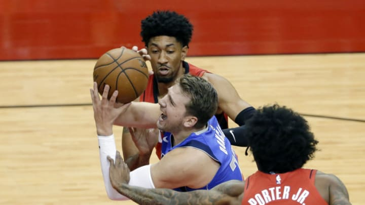 Dallas Mavericks Luka Doncic Mandatory Credit: Michael Wyke/POOL PHOTOS-USA TODAY Sports