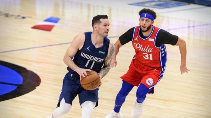 Dallas Mavericks J.J. Redick Mandatory Credit: Jerome Miron-USA TODAY Sports