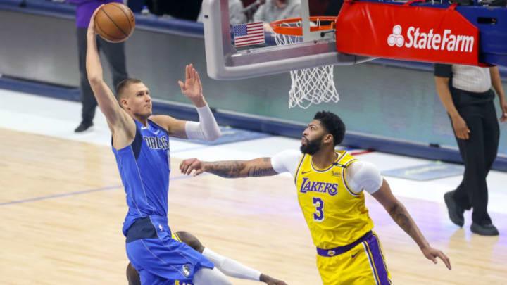 Dallas Mavericks Kristaps Porzingis Mandatory Credit: Kevin Jairaj-USA TODAY Sports