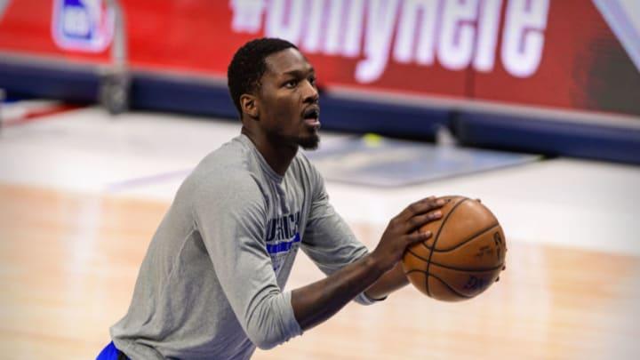 Dallas Mavericks Dorian Finney-Smith Mandatory Credit: Jerome Miron-USA TODAY Sports