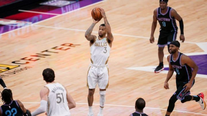 Dallas Mavericks Trey Burke Mandatory Credit: Cary Edmondson-USA TODAY Sports