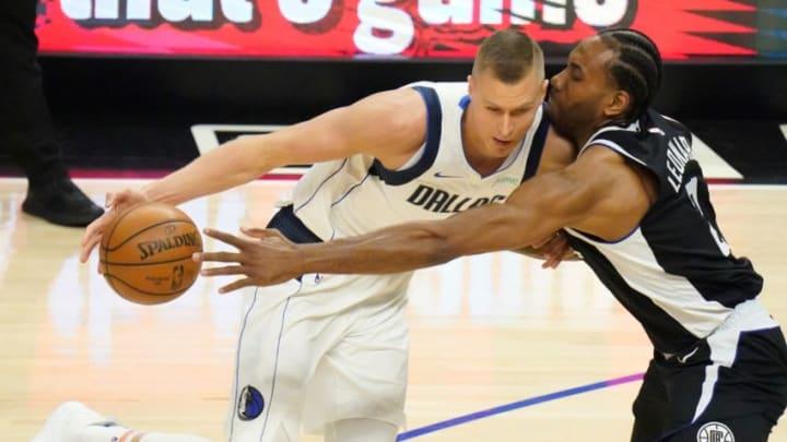 Dallas Mavericks Kristaps Porzingis Mandatory Credit: Robert Hanashiro-USA TODAY Sports