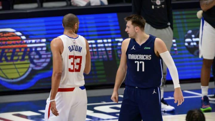 Dallas Mavericks Luka Doncic Nicolas Batum Mandatory Credit: Jerome Miron-USA TODAY Sports
